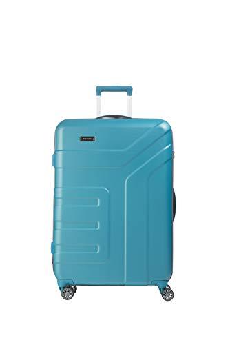 """Travelite Koffer-Serie """"VECTOR"""" von travelite: Robuste Hartschalen-Trolleys und Beautycases in 4 Trendfarben Kosmetikkoffer, 77 cm, 103 liters, Türkis"""