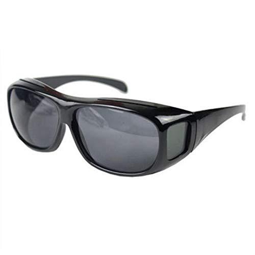 LKHJ Sonnenbrillen Gelbe Nacht, Die Hd-Vision-Sonnenbrille Männer Über Wrap Around Brille Sonnenbrille Männlich Uv400SchutzbrilleBrille Fährt