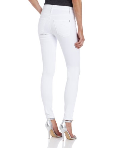 James Jeans Damen Jeans James Twiggy High Class Weiß - White (Frost White)