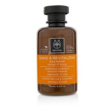 Moisture Light Shampoo (Apivita Shine & Revitalizing Shampoo with Honey & Orange 250ml)