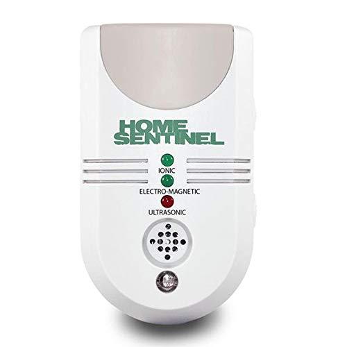 ASPECTEK Home Sentinel Répulsif ultrasonique pour intérieur au Royaume-Uni. Anti-parasitaire électronique Le Plus Puissant Contre Les araignées, Souris, Mites, Fourmis, Insectes, Blanc