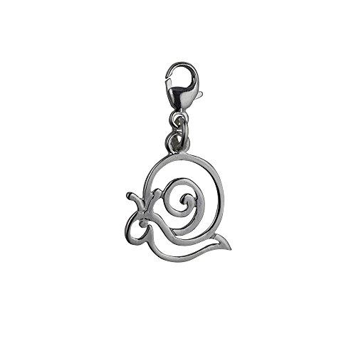 argent-fin-925-1000-15x17mm-perce-escargot-pendentif-avec-fermoir-en-pince-de-homard