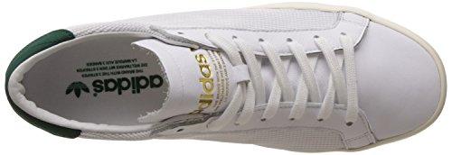 adidas Court Vantage White White Green Blanc
