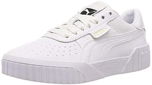 Puma Damen Cali WN's Sneaker, Weiß (Puma White-Puma White), 38.5 EU Damen Schuh Sneaker