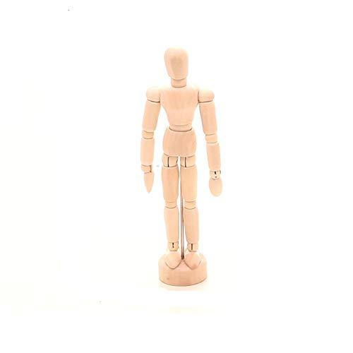 """Romote Voll Mannequin Körper Realistische Mannequin Anzeige Zeichnung Mannequin Holzfiguren Kleine Größe 6.1""""X0.98"""