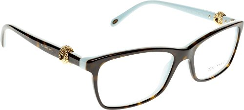 Tiffany & Co. Für Frau 2104 Tortoise / Blue Kunststoffgestell Brillen, 53mm