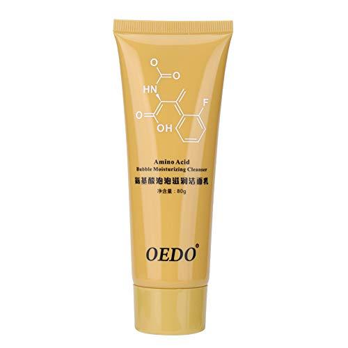 Gesicht Reiniger Aminosäure Blase feuchtigkeitsspendende Tiefenreinigung Öl Kontrolle Poren Schrumpfen Reinigungscreme 80 g