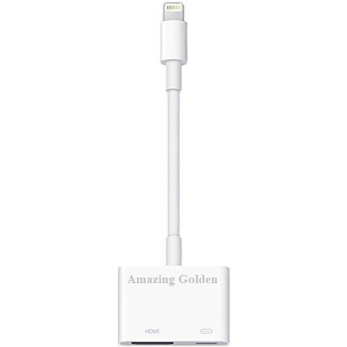 mit 8Pin Lightning auf Digital AV-/HDMI-Adapter für Apple iPhone 5, iPad - Mini-hdmi-auf-hdmi-kabel Ipad Für