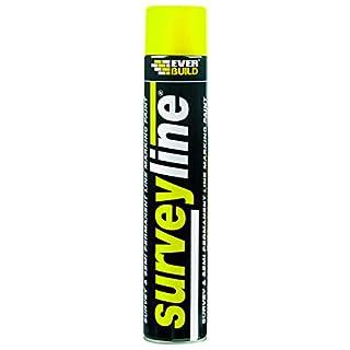Everbuild SURVEYYE Surveyline Marker Spray Yellow 700  ml