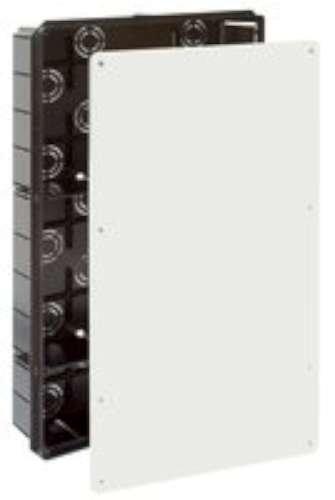 '5503 – Boitier Raccord et dérivation. Installation encastrée. De 300 x 500 x 85. 50 entrées pour tube Ø 40. Couvercle Vis