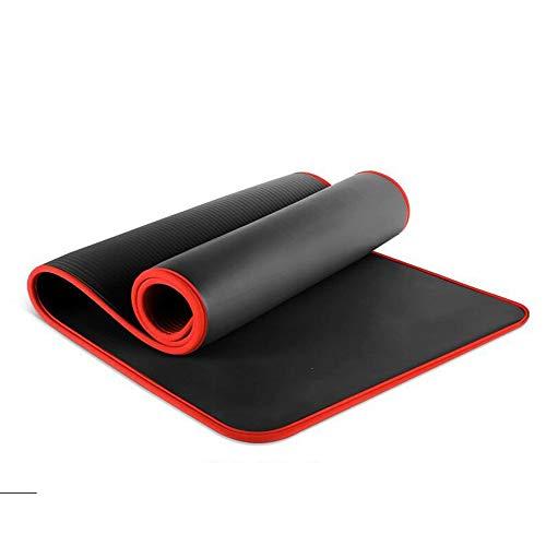 SailorMJY Yoga-Übung Gym Pilates Fitness-Matte Matten, bedeckt Rutschfeste Anfänger Matte, erweitert und verdickt Sport Männer und Frauen Yoga-Matte (Männer Yoga-matten Für Dick)