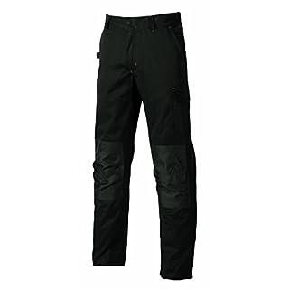 UPOWER ST068BC Work trousers basic, Alfa Black, 62