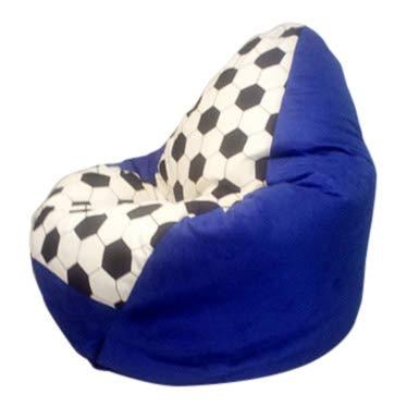 Altmark-Design XL-Fussball Nr.IX Blau - Hellblau/Incl. Inlett