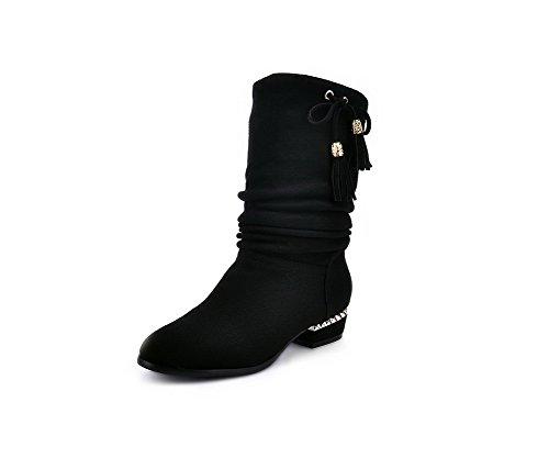 AdeeSu - Pantofole a Stivaletto donna , nero (Black), 40