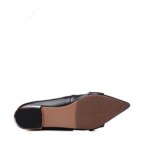 Asakuchi Sapatos Apontou B Casuais Carreira Modo Sapatos Rasos Casuais Primavera Verão Vivenda Sapatos Senhora UZwAUrHq