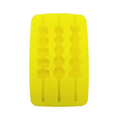 LJSLYJ Eiswürfelform Silikon Eiswuerfel Form Eiswuerfelbehaelter Ice Tray Ice Cube