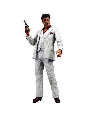 a 18cm Actionfigur White Suit Version (Kostüm De Tony Montana)