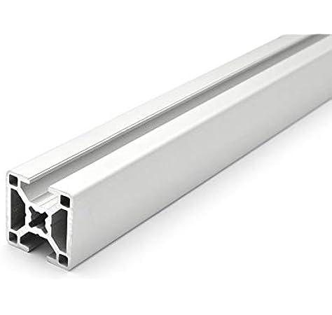 22,50 Eur // M Profilo Alluminio 80x16S Tipo Noce 8 Taglio 50-1190mm