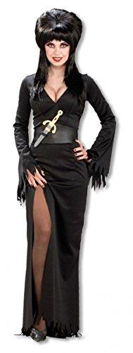 m SM (Elvira Perücke Halloween)