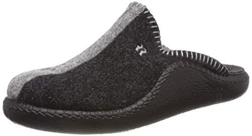 Romika Damen Mokasso 62 Pantoffeln, Grau (anthrazit 700), 39 EU