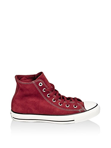 All Star Hi Suede Rosso