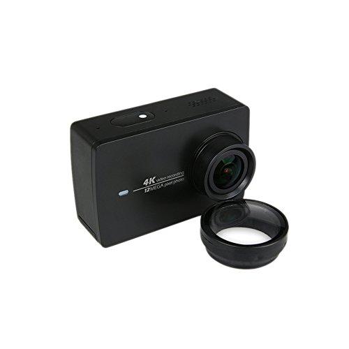 Meijunter New UV Lens Filter Glass Cover Protective Cap For Xiaomi Yi 2 4K Action Camera Lens Cap Cover
