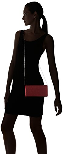 Bulaggi Damen Envelope Clutches, 22x11x5 cm Rot (Burgundy 60)
