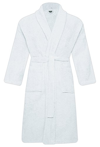 MEN-WOMEN-100-COTTON-TERRY-TOWELLING-SHAWL-COLLAR-BATHROBE-DRESSING-GOWN