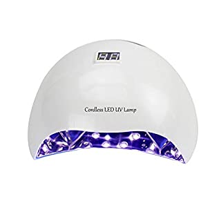 XINTD Gel Nagel Kits mit UV Lampe 36W / 54W Nageltrockner Tragbare wiederaufladbare Induktions schmerzfreie Nagelkleber Backlampe Geeignet für alle Gel Nagellack
