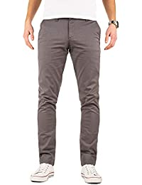 Yazubi Herren Chino Hose - Modell Kyle Slim fit - Chinohose Casual mit Stretch