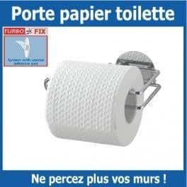 Porte rouleau de papier toilette Turbo Fix