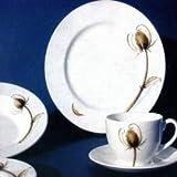 Mahlwerck Porzellan Frühstücks-/Kaffee-Geschirr DISTEL, 27-tlg. für 6 Personen, Im Angebot