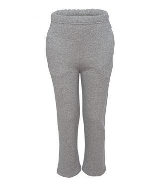 Youth 8 oz. NuBlend� Open-Bottom Fleece Sweatpants OXFORD M (Jerzees-fleece-oxfords)