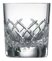 Galway Longford Double Old Fashion DOF Set of 2 Gift Boxed by Galway Crystal Galway Crystal Set