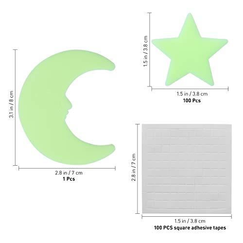 Zoom IMG-3 vorcool luna stelle fluorescenti luminose