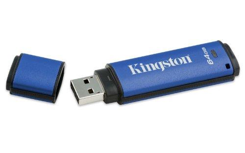 Kingston Kingston Datatraveler Vault (Kingston DataTraveler Vault Privacy EDT. 64GB USBStick USB2.0 w/256bit Encryption AES Hardware-Based)