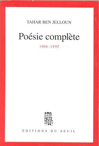 Poésie complète, 1966-1995