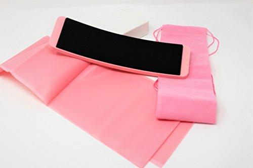 Reiko London Ballett Drehen Board, Dance Equipment inkl. Gratis Stretch-Band und Tragetasche verpackt in einer Geschenk-Box. Ballett Drehen