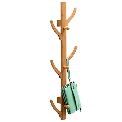 Bambú Montaje Pared Perchero Forma Arbol Pared Colgar