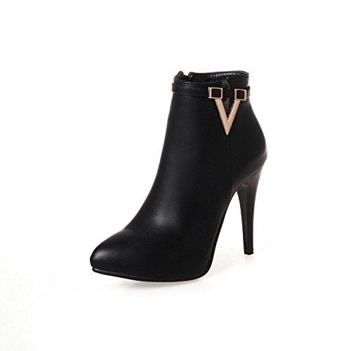 KHSKX-Et Bien Nos Bottes Chaussures Bottes Et Martin Bottes De Bottes Bottes Et Bottines Nues Courte Capsule. black
