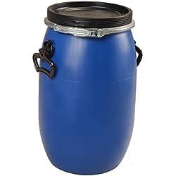 Sotralentz - Fut 30 litres bleu à ouverture totale