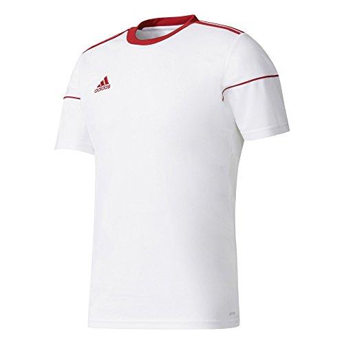 adidas Herren Squad 17 Jsy Ss T-shirt, weiß (White/Power Red), 128 Herren 17