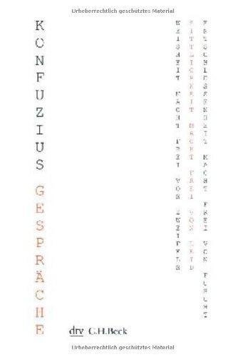 Buchseite und Rezensionen zu 'Gespräche (Kleine Bibliothek der Weltweisheit)' von Konfuzius