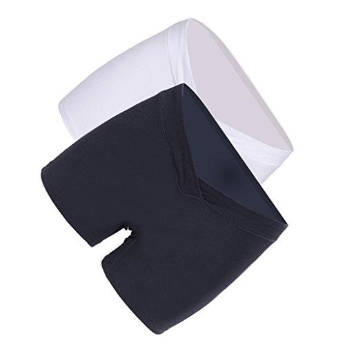 Prettyia 2x Donna Maternità Biancheria Intimo Premaman Mutande Underwear Pantaloncini Slip #2 L
