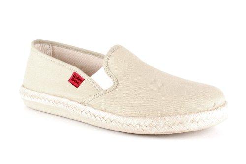 Andres Machado.AM500.Chaussures classiques, en cuir avec lacets .Grandes pointure de la 46 à la 51. LonaBeige