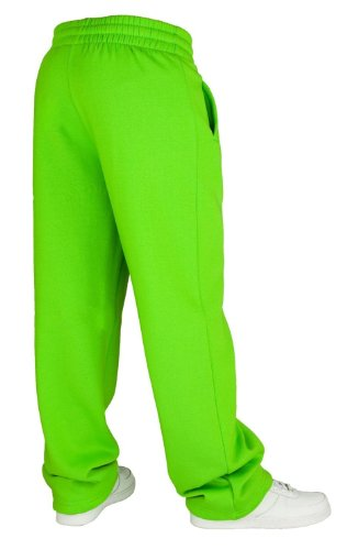 Urban Classics Loose-Fit Pantalon Sweat Limegreen Limegreen