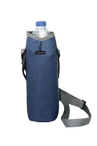 Vin Bouquet FIE 190 - Bolsa Isotérmica Color Azul, Bandolera para Botellas, 10 x 10 x 29 cm