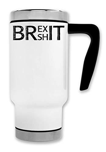 ShutUp Brexit Thermische Reise-Kaffee-Tee-Tasse
