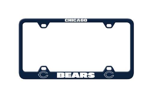 Fremont Die NFL Chicago Bears Laser-Kennzeichenrahmen