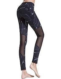 d8321da2d2d47 Croslimit Women Yoga Leggings - Upgrade High Waist Tummy Control - Hidden  Pocket - Plus Size